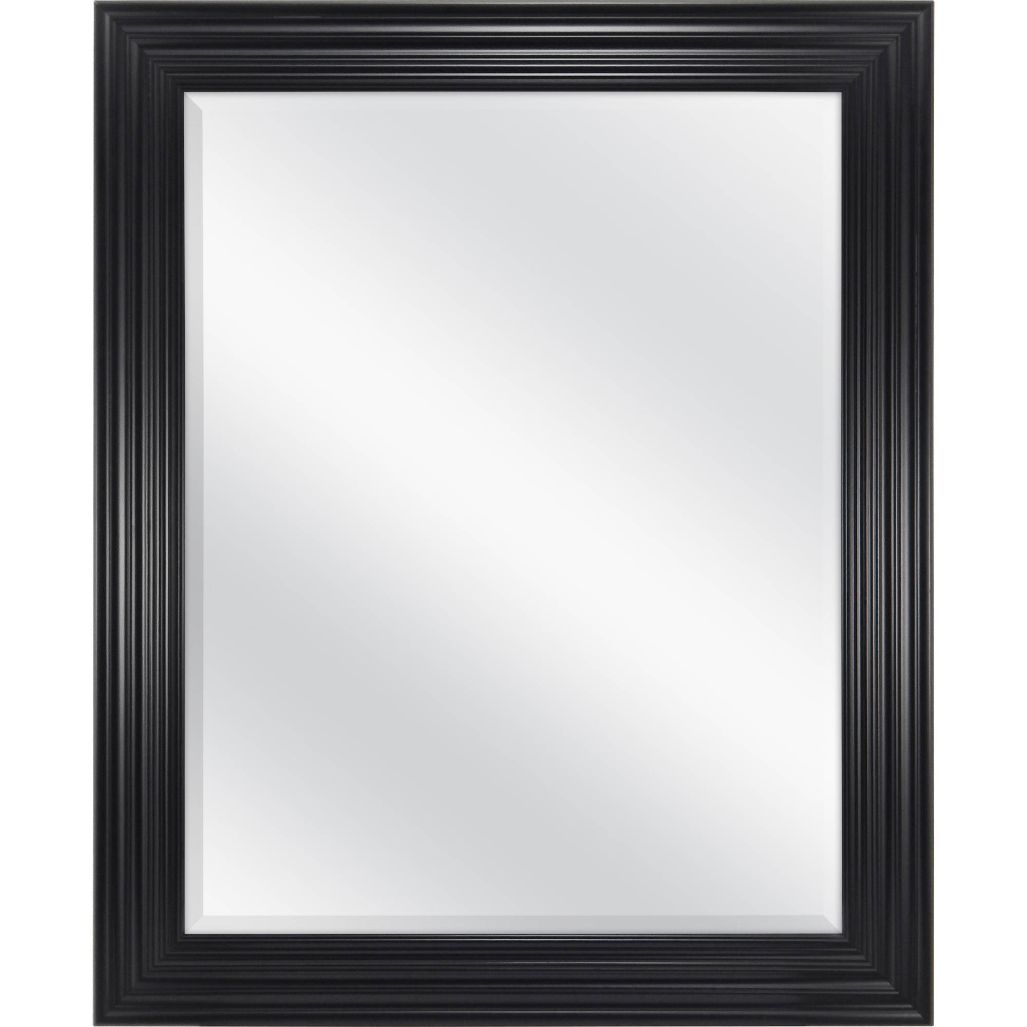 """Mainstays Classic Beveled Wall Mirror, 27"""" x 33"""", Available in Multiple Colors"""