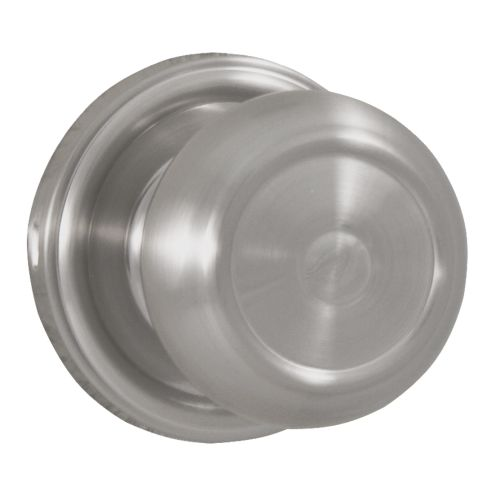 Weslock 605Z Savannah Single Dummy Door Knob with Round Rose from the Traditionale Collection
