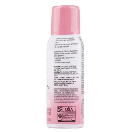 6 Pack) Wilton Pink Color Mist Food Color Spray, 1.5 oz. - Walmart.com