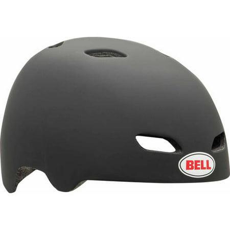 Black Helmet - Bell Manifold Adult Multisport Helmet, Black