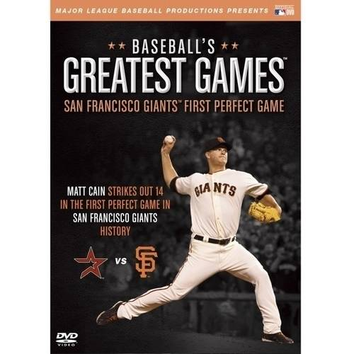 MLB: Baseball's Greatest Games San Francisco Giants First Perfect Game by ARTS AND ENTERTAINMENT NETWORK