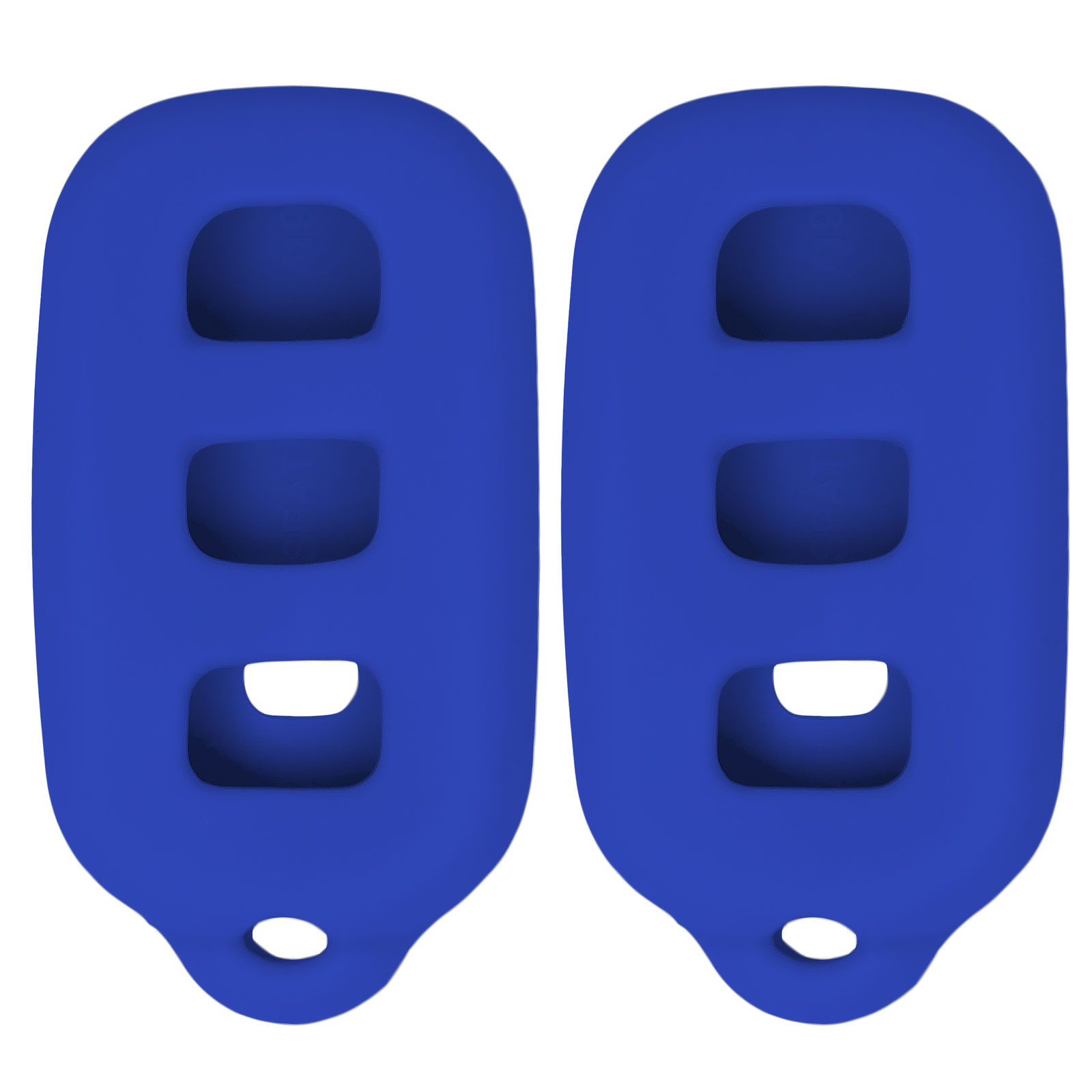 Keyless2Go New Silicone Cover Protective Cases for Remote Key Fobs with FCC GQ43VT14T HYQ12BBX HYQ12BAN (2 Pack)