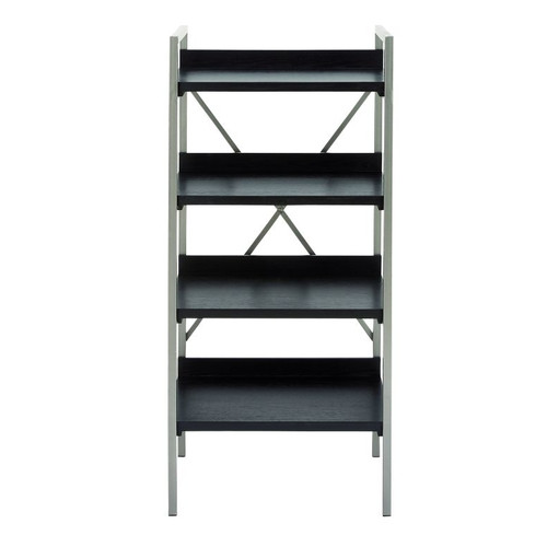 Cole & Grey Metal and Wood 47'' Etagere Bookcase by GwG Outlet