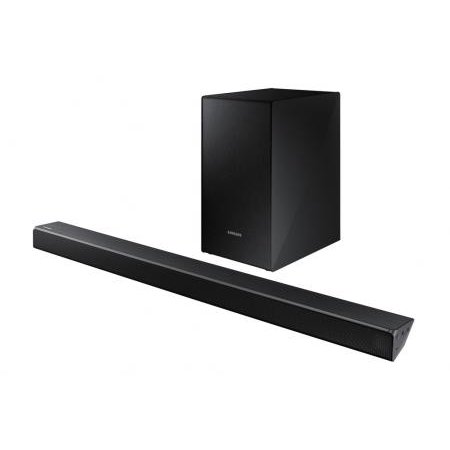 Samsung 2.1 Soundbar with 290W and Wireless Active Sub - Black (HW-R50M)