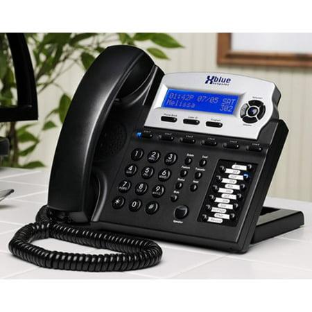 XBlue Networks XB-1670-00 XBlue Speakerphone - Charcoal White Box