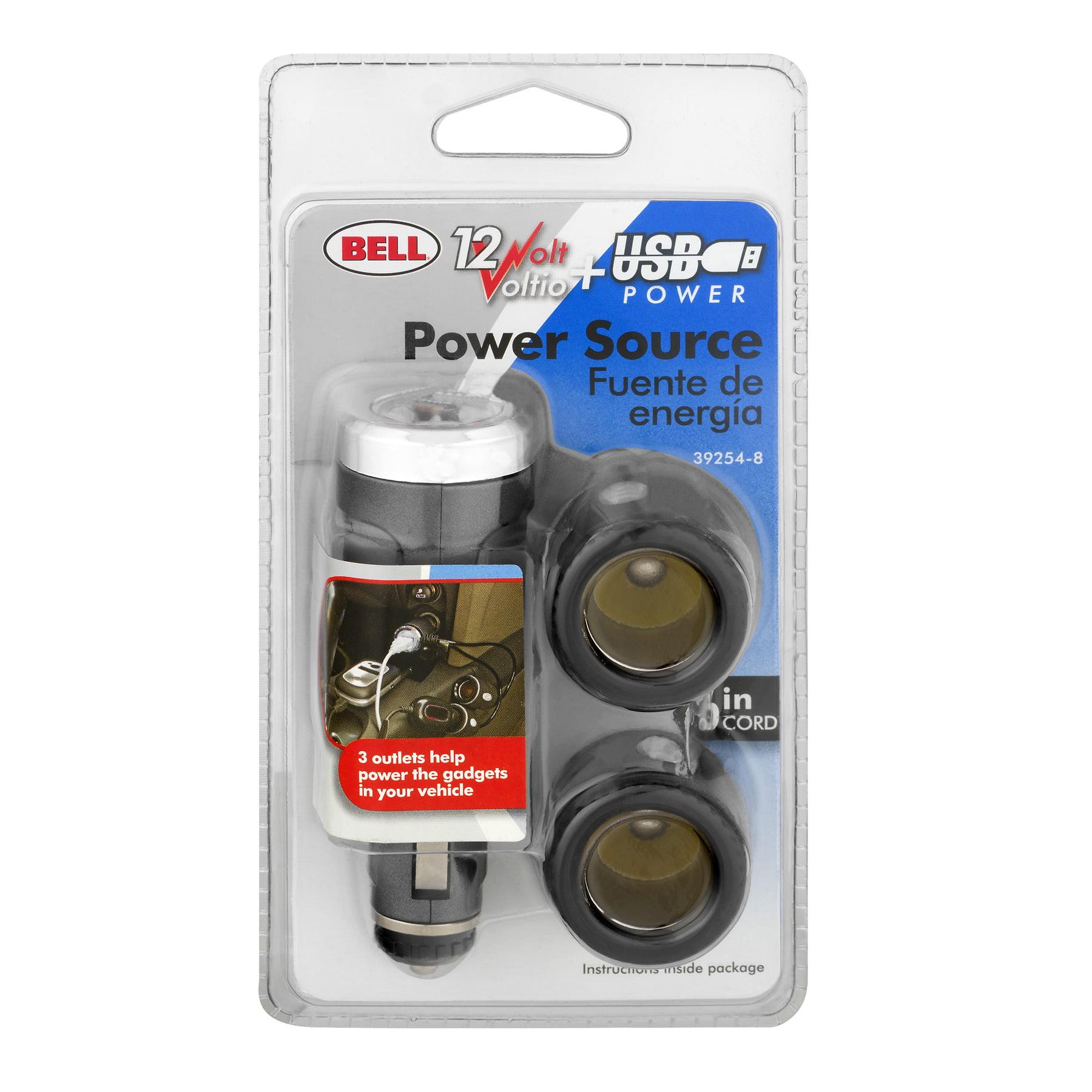 Bell 12 Volt USB Power Source, 1.0 CT