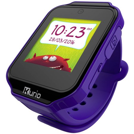 Kurio Kids Smartwatch Bluetooth Watch with Messaging, Apps, Games, Tracker and Camera for Photo and Video - (Lavender Watch)