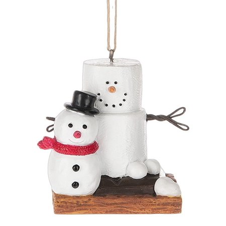 Original S'mores Smore Man with Fresh Made Snowman Christmas Tree (Man Snowman)