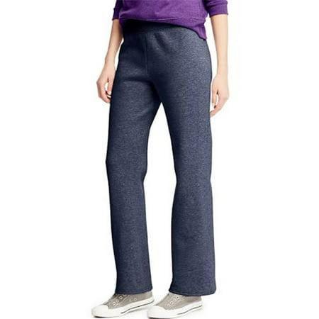 Hanes 00617914197964 Comfortsoft EcoSmart Womens Petite Open Leg Sweatpants - Jazzberry Pink, Medium - image 1 of 1