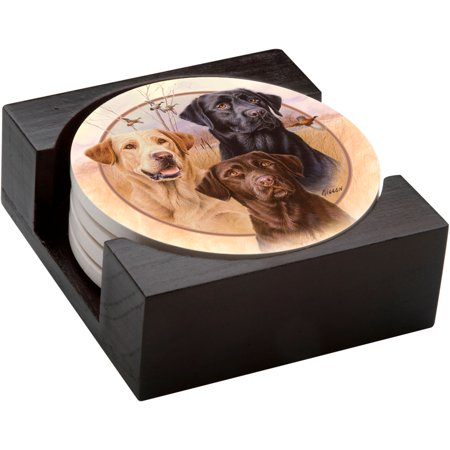 Thirstystone Drink Coasters Gift Set, Great Hunting Dogs thumbnail