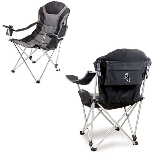 Chicago White Sox Reclining Camp Chair - Black - No Size