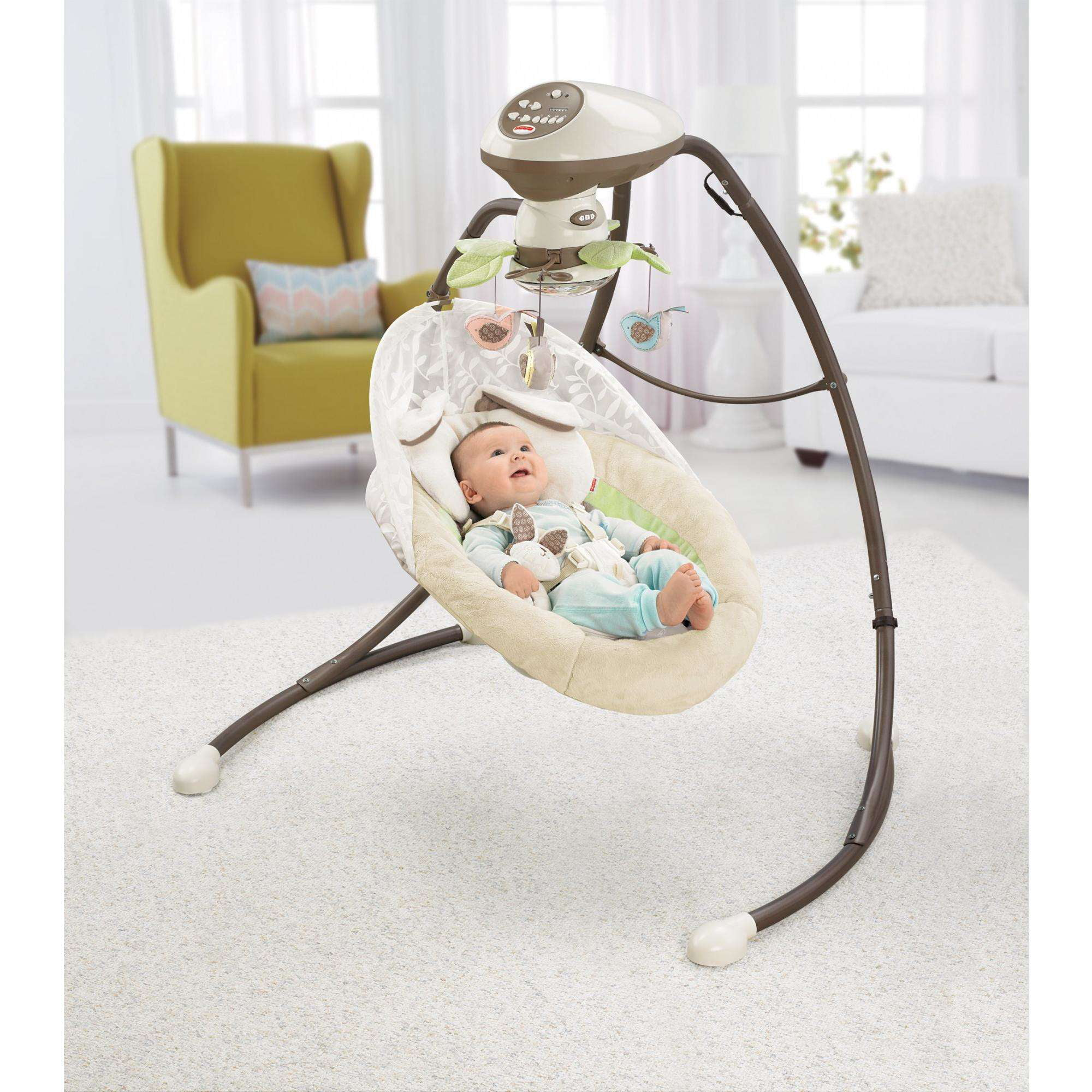 Fisher-Price My Little Snugabunny Cradle n Swing Replacement Pad