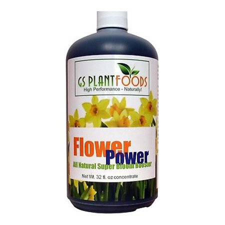 Flower Power All Natural Super Bloom Booster 32 0z concentrate