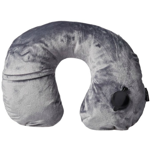 Travelon Deluxe Inflatable Pillow-Gray Deluxe Inflatable Pillow