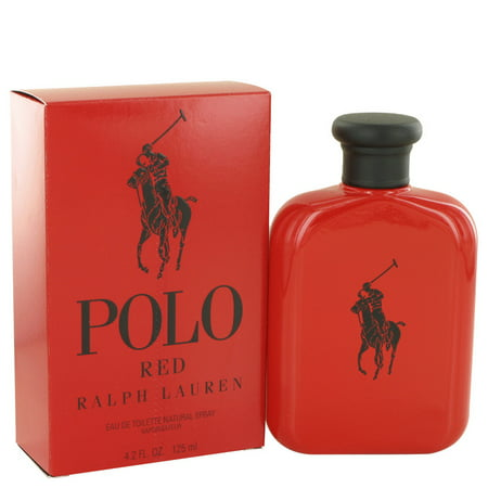 Polo Red By Ralph Lauren 4.2 oz Eau De Toilette Spray for (Polo Club Ralph Lauren)