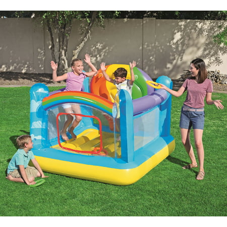 UP IN & OVER Hot Air Balloon Inflatable Bouncer