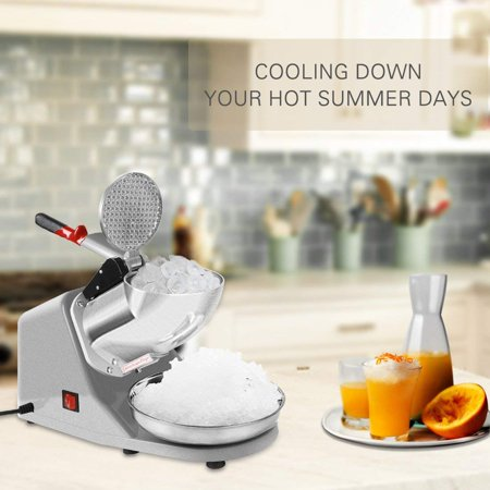 Vivohome 300W Electric Ice Crusher Shaver Machine Snow Cone Maker Shaved Ice 143 - Snow Cone Stands For Sale