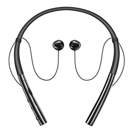 130 Wireless Headphones (Bluetooth Headphones, HokoAcc Wireless Headphones Neckband Headset, IPX7 Sweatproof Sports Noise Cancelling Stereo Magnetic E)