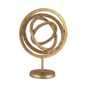 Elk Group International 8903-027 16 in. Aluminum Rings Sculpture