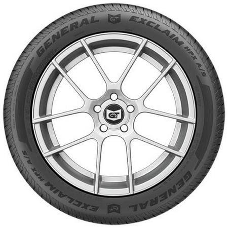 General Exclaim HPX A/S 215/55R17 (Best General Tires)