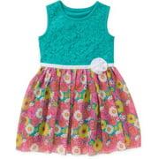 Toddler Girls' Rosette Dress