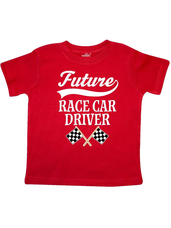 Future Race Car Driver Racing Toddler T-Shirt