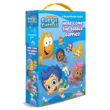 Here Come the Bubble Guppies (Board Book) (Bubble Guppies Halloween Games)