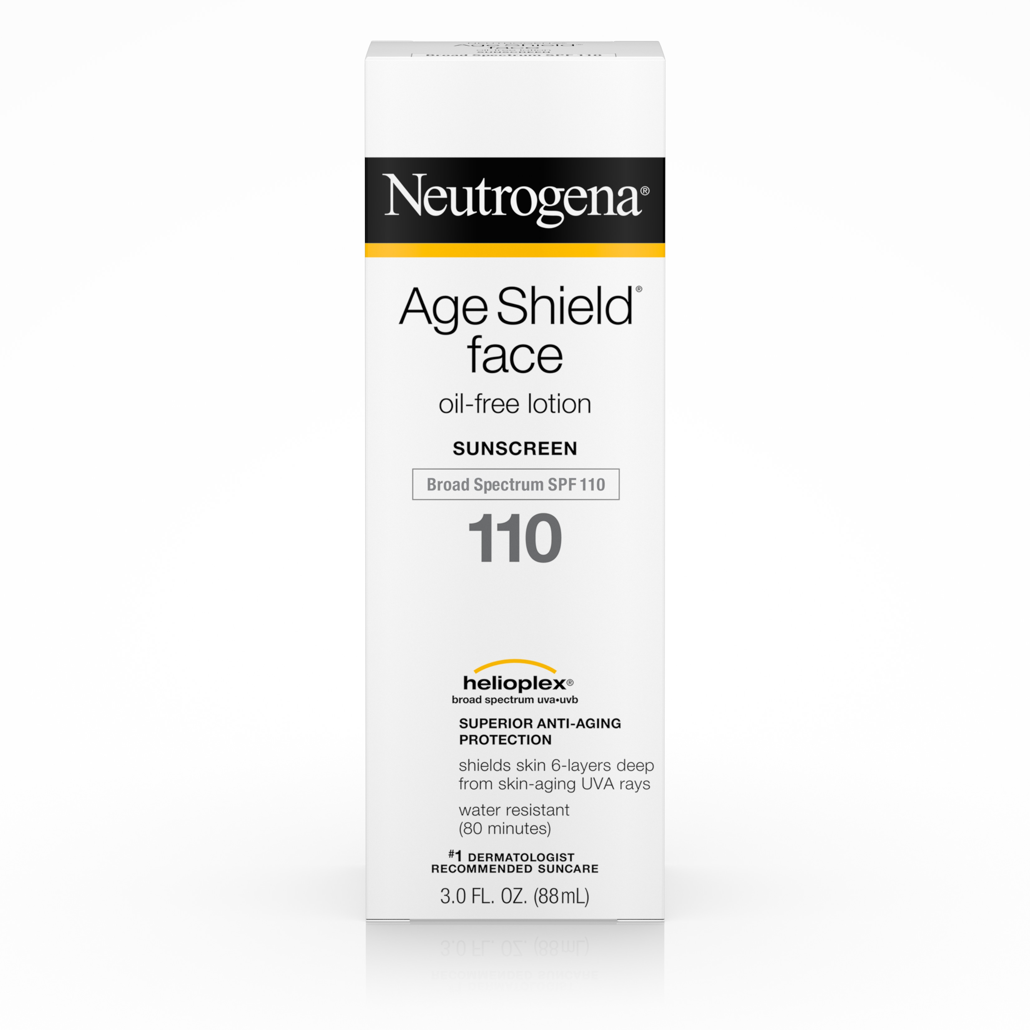 Neutrogena Age Shield Face Oil-Free Lotion Sunscreen Broad Spectrum Spf 110, 3 Fl. Oz. - Walmart.com