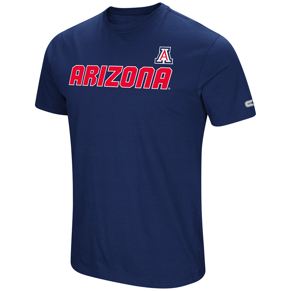 "Arizona Wildcats NCAA ""Water Boy"" Men's Dual Blend S/S T-Shirt"