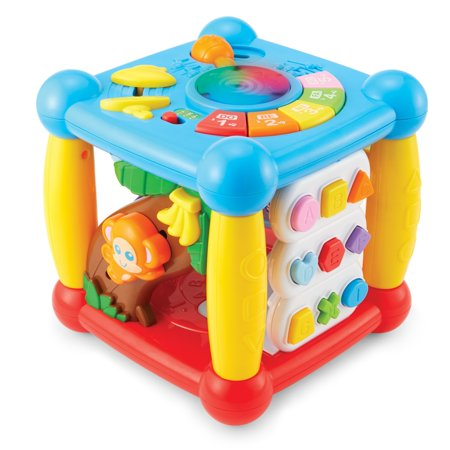 Kidoozie Lights 'n Sounds Activity Cube (Learning Activities For 18 Month Olds At Home)