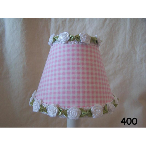 Silly Bear Lighting Gardens Of Gingham 11'' Fabric Empire Lampshade by Silly Bear Lighting