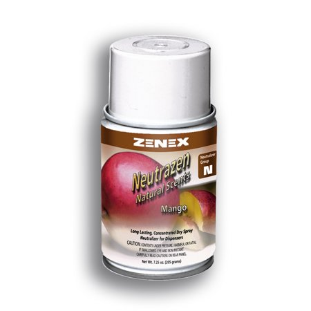 Zenex Neutrazen Mango Scent Metered Odor Neutralizer - 12 Cans (Case) Scent Metered Odor Neutralizer