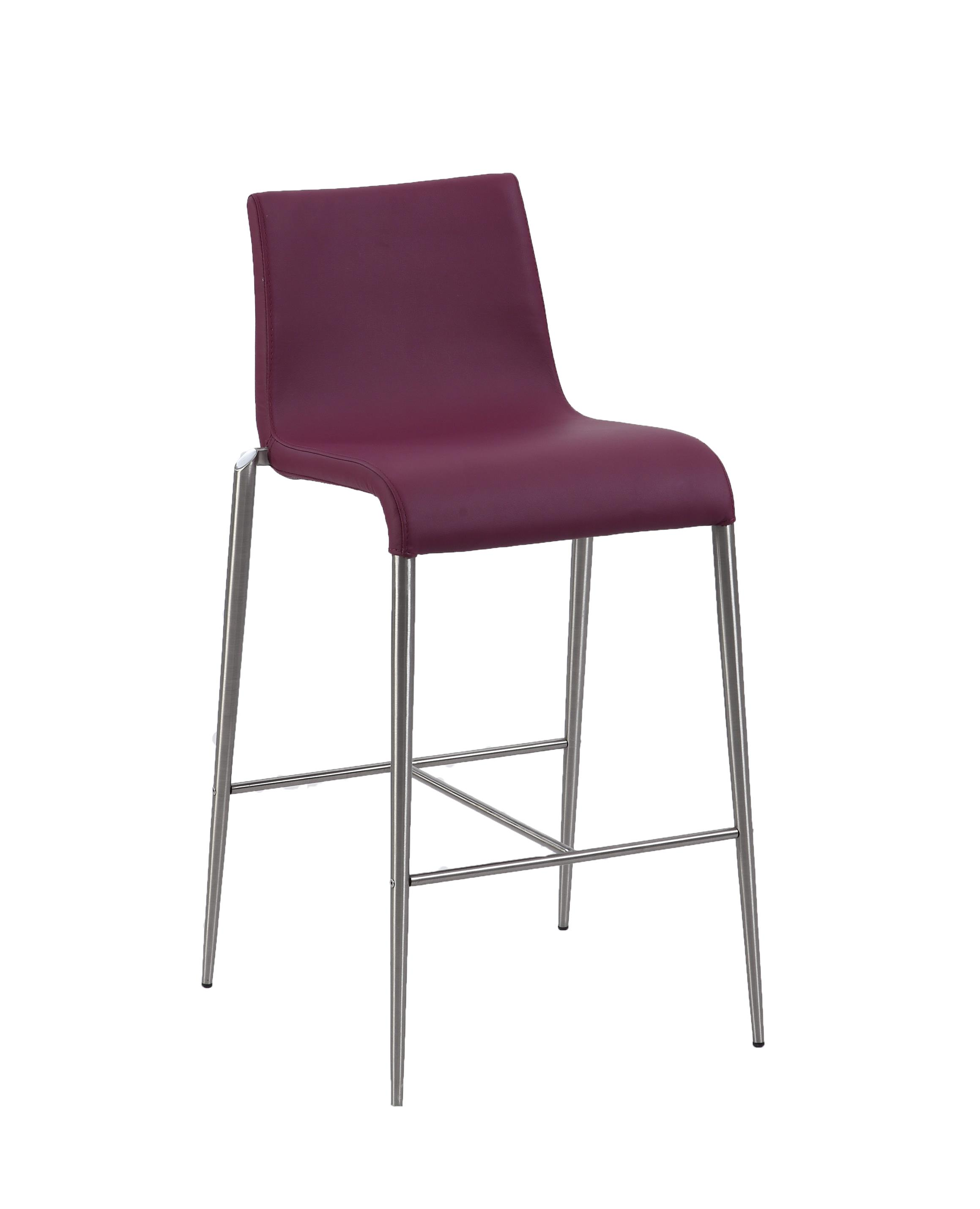 Fantastic Chintaly Remy Upholstered Stool In Purple Counter Stool Walmart Com Uwap Interior Chair Design Uwaporg