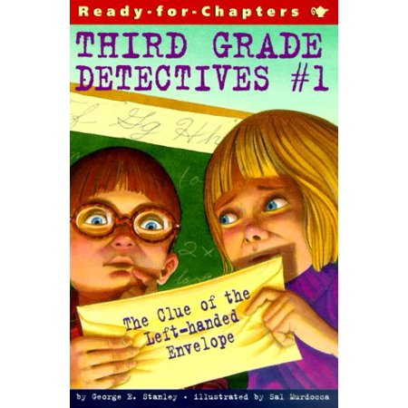 The Clue of the Left-Handed Envelope (Book #1 of Third-Grade