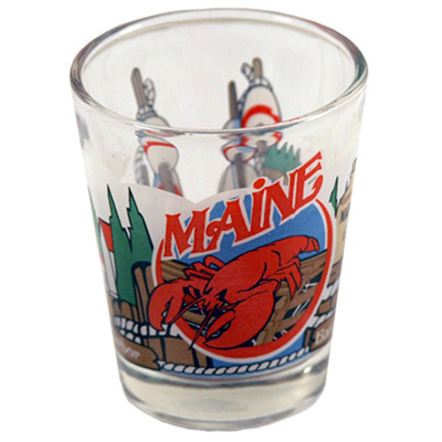 "Ddi Maine Shot Glass 2.25h X 2"" W 3 View (pack Of 96)"