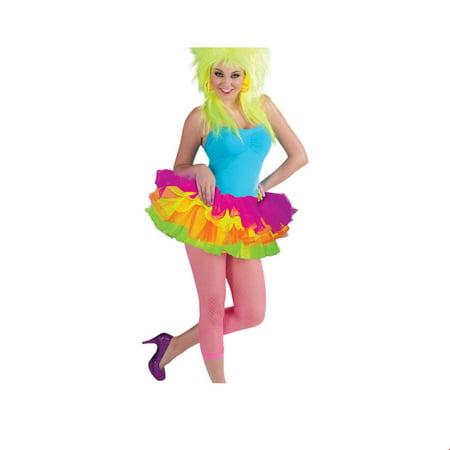 Neon Adult Tutu Halloween Costume - Nekos Halloween