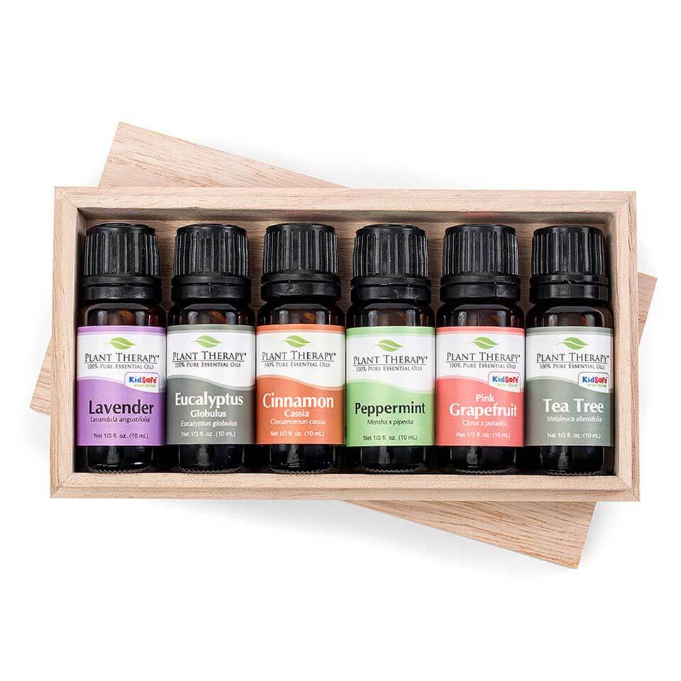 Plant Therapy Essential Oil Sampler Gift Set #3 10 mL (1/3 fl. oz.) each, 100% Pure, Undiluted, Therapeutic Grade