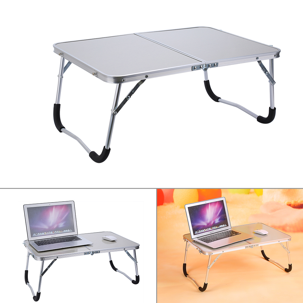 Laptop Desk,Portable Bed Table,Fosa Portable Ourdoor Picnic Camping Folding Table Laptop Desk Stand PC Notebook Bed Tray