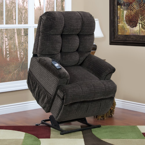 Medi Lift Chair med-lift 5555 series sleeper / reclining lift chair with extra