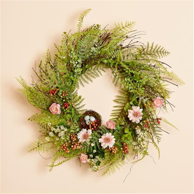 Harvest of Barnstable BMW20 20 inch Mixed Fern Wreath