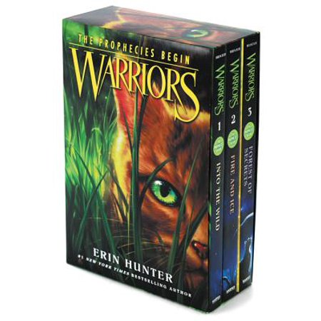 (Warriors Box Set: Volumes 1 to 3 : Into the Wild, Fire and Ice, Forest of Secrets)