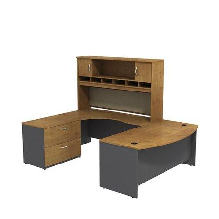Bush Business Furniture Series C U Shaped Desk Office Suite (Fancy Dress Starting With C)