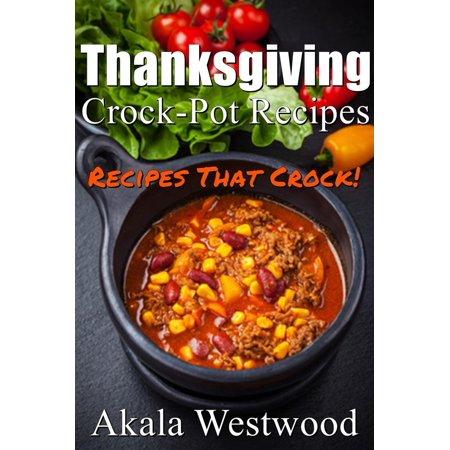 Thanksgiving Crock Pot Recipes - eBook