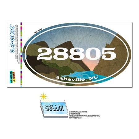 28805 Asheville, NC - River Rocks - Oval Zip Code Sticker](Party City Asheville Nc)