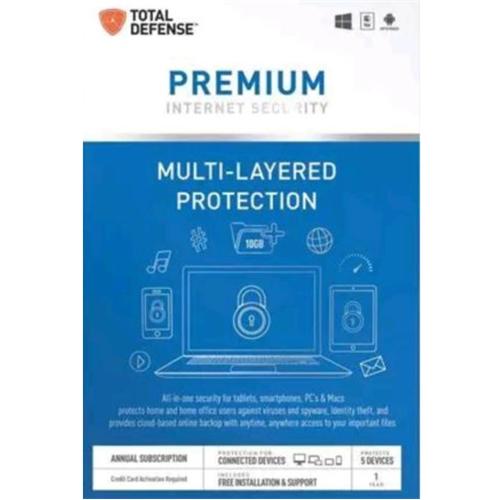 Total Defense Premium Internet Security TLD12537