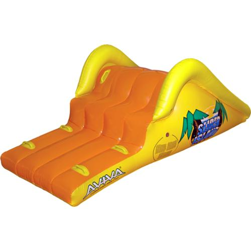 Click here to buy Aviva Sports Aviva by RAVE Sports Slick Slider Island Pool Waterslide by Overstock.