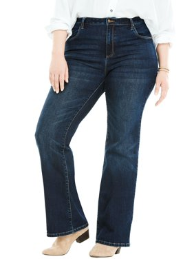 37f396877fa Product Image Woman Within Plus Size Tall Perfect Bootcut Jean
