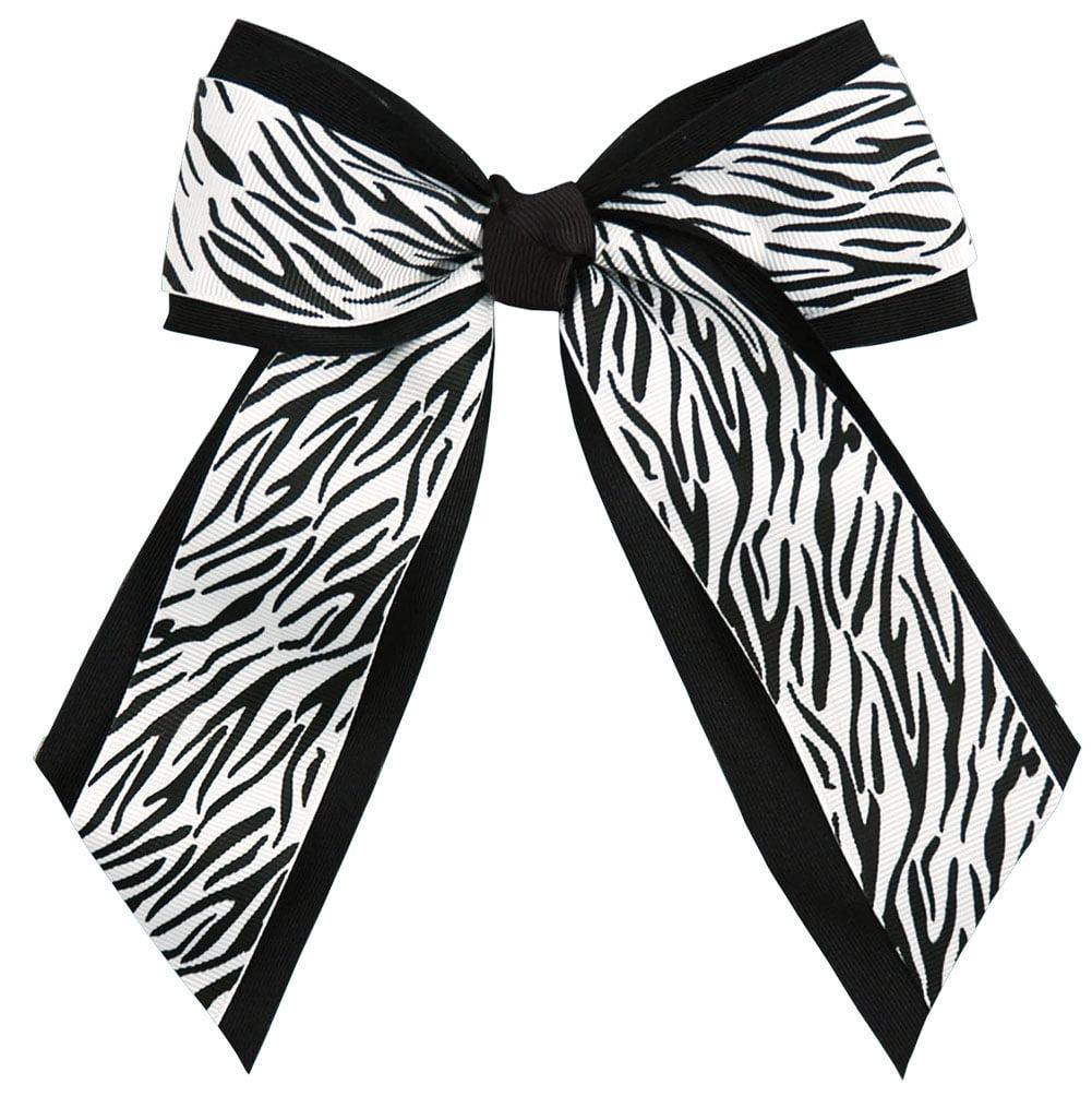 Animal Print Hair Bow - Walmart.com