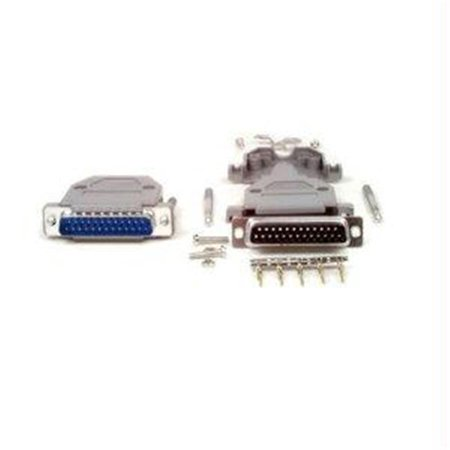 STARTECH  TERMINATE YOUR BULK CABLE WITH A DB25 CONNECTOR - DB25 MALE CRIMP CONNECTOR -