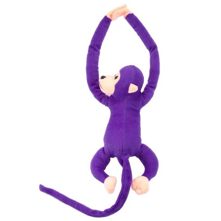 Cute Soft Long Hanged Monkey Animal Plush Stuffed Doll Sound